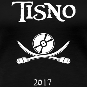 Tisno Digital Pirate White - Vrouwen Premium T-shirt