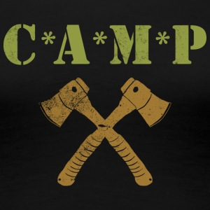 CAMP Axes - Women's Premium T-Shirt