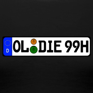 Oldies 99 historically - Women's Premium T-Shirt
