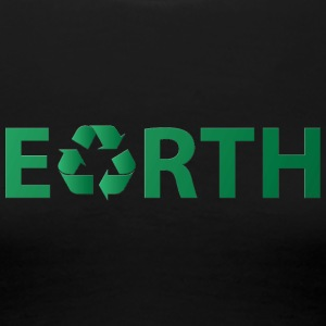 Earth Day / Dag: Earth - Resirkulering - Premium T-skjorte for kvinner
