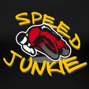 SPEED JUNKIE - MOTORRACER ROAD RACING - Vrouwen Premium T-shirt