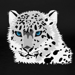 Leopard blue eyes - Women's Premium T-Shirt