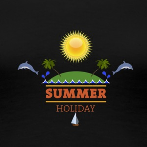 Summer holiday - Frauen Premium T-Shirt