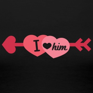 I love him - Frauen Premium T-Shirt