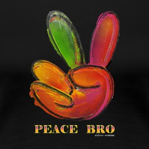 PEACE BRO - Women's Premium T-Shirt