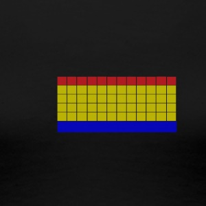 Apartment Tetris 1 - Dame premium T-shirt