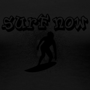 surfer boy black - Women's Premium T-Shirt