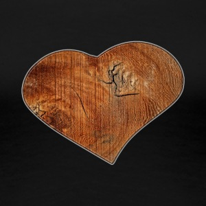 Wood_Heart_Isle - Women's Premium T-Shirt