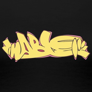 Cool street art graffiti - Dame premium T-shirt