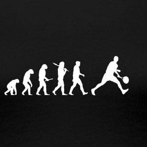 Evolution Tennis! lustig! - Frauen Premium T-Shirt