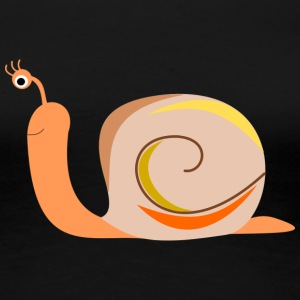 colorful snail - Women's Premium T-Shirt