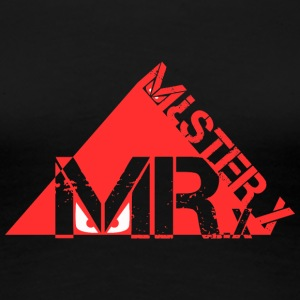 MR-X_PNG_rosso - Dame premium T-shirt