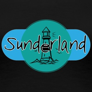 Sunderland Light Logo! - Premium T-skjorte for kvinner