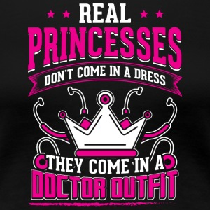 REAL PRINCESSES doctor - Women's Premium T-Shirt
