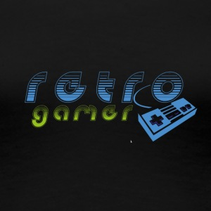 retrogamer - Women's Premium T-Shirt