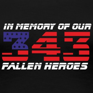 343 - In Memory of - Women's Premium T-Shirt