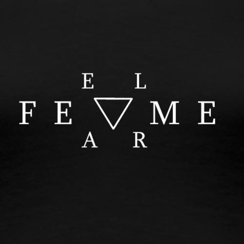 Femme white - Frauen Premium T-Shirt