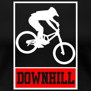 Downhill - Freerider - Biker T-shirt and hoodie - Women's Premium T-Shirt