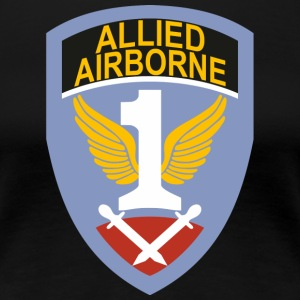 First Allied Airborne Army - Vrouwen Premium T-shirt