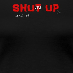 Shuffle up and deal! Poker T-Shirt - Women's Premium T-Shirt