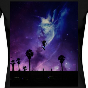 Skate to Space - Frauen Premium T-Shirt