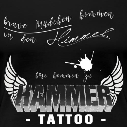 Böse Maedchen.... schwarz - Frauen Premium T-Shirt