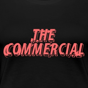 The Commercial Design #1 (Salmon - Women's Premium T-Shirt