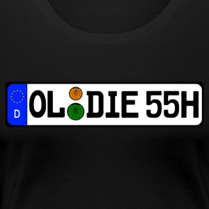 Oldie 55 years history - Women's Premium T-Shirt
