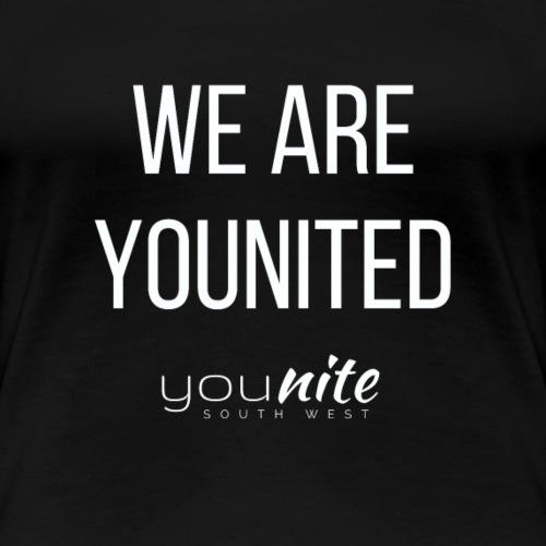We are Younited - Women's Premium T-Shirt