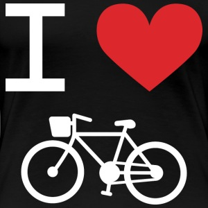 I love Bike - Women's Premium T-Shirt