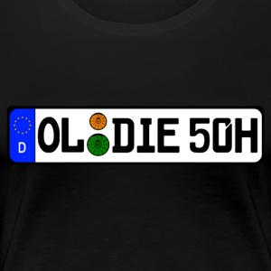Oldie 50 years history - Women's Premium T-Shirt
