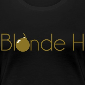 Blonde pm - Dame premium T-shirt