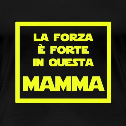 Mamma - La versione Jedi della mamma - Maglietta Premium da donna