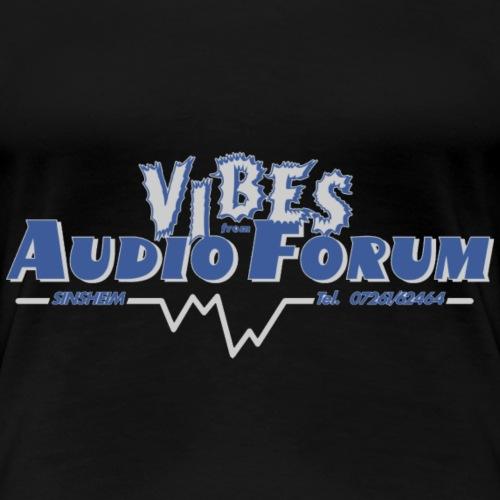 vibesaudio - Frauen Premium T-Shirt