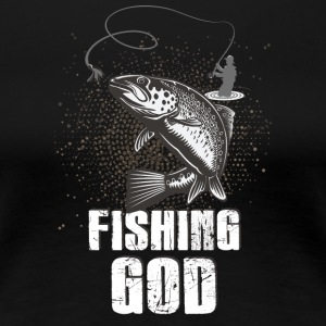 Fishing! Fishing! funny! Rod! - Women's Premium T-Shirt