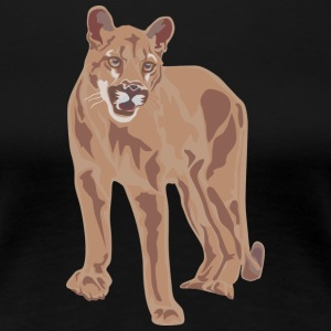 Wild cat - Frauen Premium T-Shirt