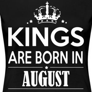 King Birthday August - Women's Premium T-Shirt