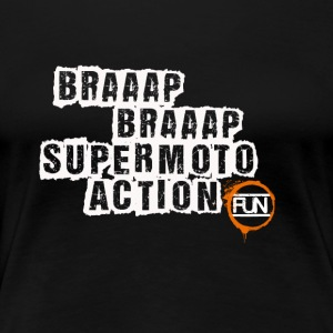 Supermoto Action - Frauen Premium T-Shirt