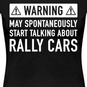 Funny Rally Car Gift Idea - Women's Premium T-Shirt