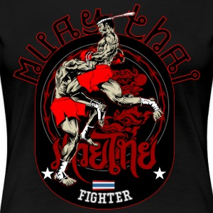 Muay Thai Fighter - Frauen Premium T-Shirt