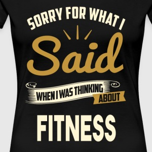 FITNESS T-shirt - Frauen Premium T-Shirt