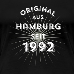 Original from Hamburg since 1992 - Women's Premium T-Shirt
