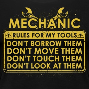 Mechanic tool lines - Women's Premium T-Shirt