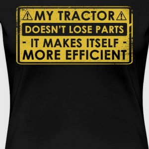 Funny Tractor Gift Idea - Women's Premium T-Shirt