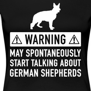 Funny German Shepherd Gift Idea - Women's Premium T-Shirt