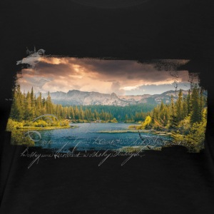 Nature Groove - Women's Premium T-Shirt