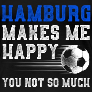 MAKES ME HAPPY HAMBURG - Frauen Premium T-Shirt