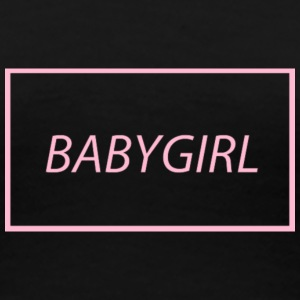 Babygirl girl~~POS=HEADCOMP - Frauen Premium T-Shirt