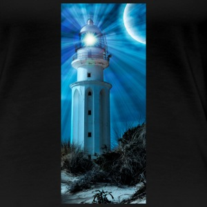 LIGHTHOUSE TRAFALGAR_NOCHE - Premium-T-shirt dam