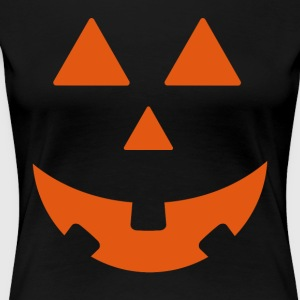 Halloween pumpa Design - Premium-T-shirt dam